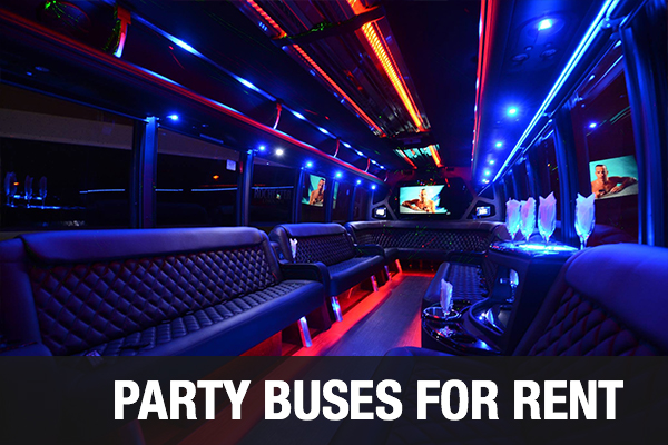 Party Buses For Rent city