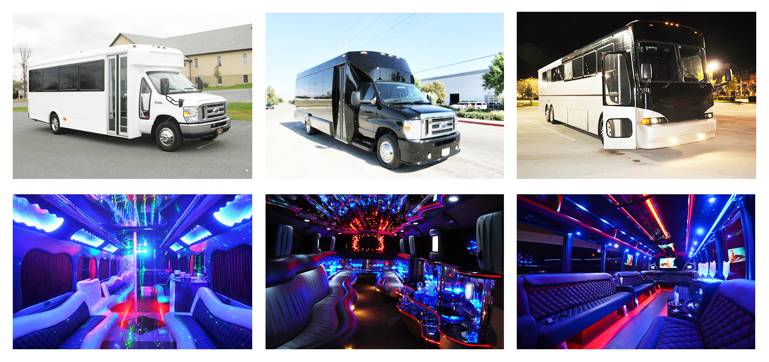 birmingham party bus rental