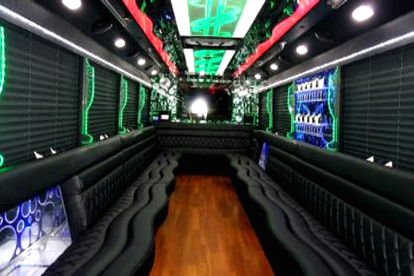 22-passenger-Roseville-party-bus-Central Falls