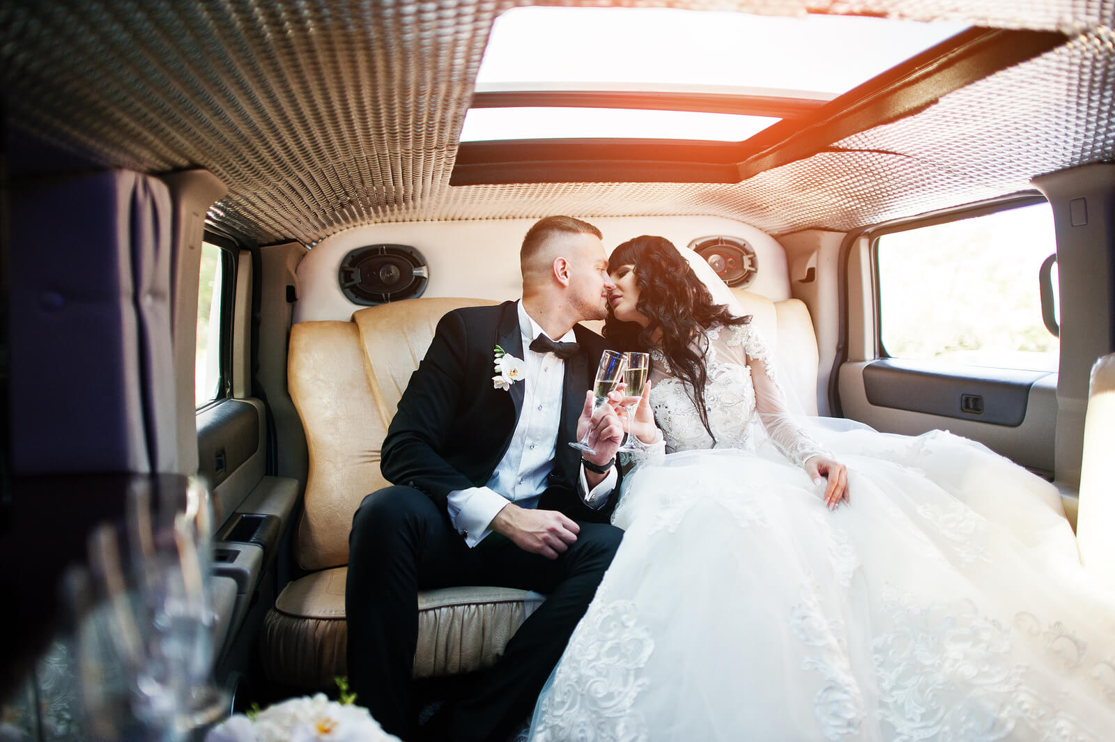 wedding limo rental