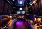 20 Passenger Party Bus Interior 1