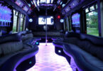 22 Passenger Party Bus Interior 2