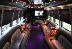 25 Passenger Party Bus Interior 2