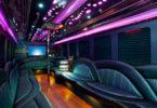 40 Passenger Party Bus Interior 1