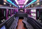 40 Passenger Party Bus Interior 2