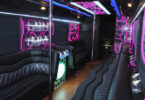 50 Passenger Party Bus Interior 1
