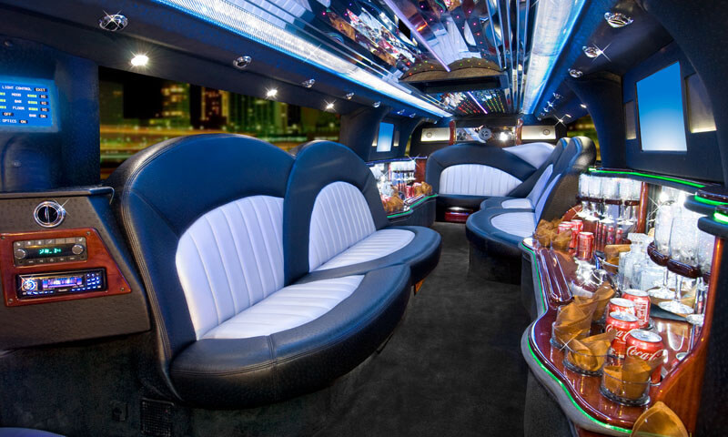 Escalade Limo Interior 1