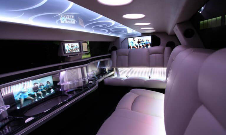 Lincoln MKT Limo Interior 1