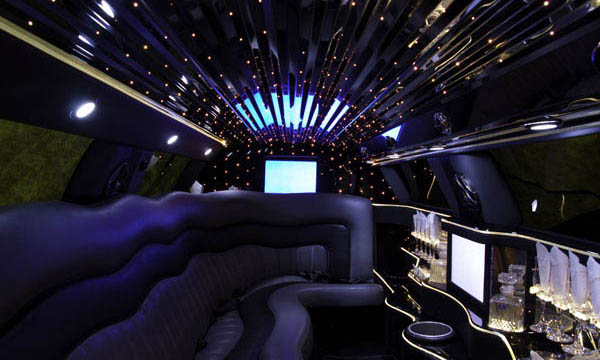 Lincoln MKT Limo Interior 2
