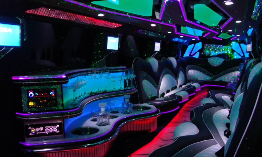 Range Rover Limo Interior 1
