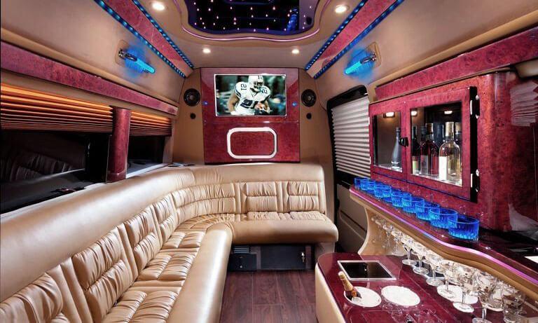 Sprinter Party Bus Interior 2